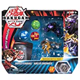 Bakugan,战斗包 5 件装,可收藏卡片和变形生物,适合 6 岁及以上儿童 Darkus Hydorous and Aurelus Gargarnoid 多种颜色