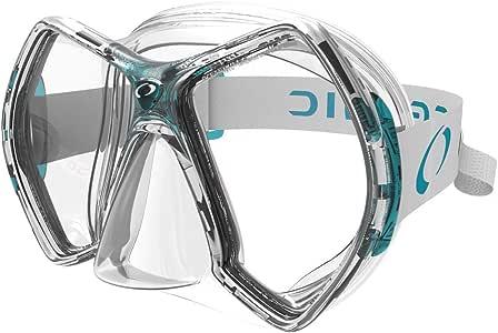 Oceanic Cyanea Ultra Scuba Mask - Clear Lens - Clear/Sea Foam