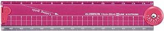 KUTSUWA HiLiNE 折叠铝尺 粉色