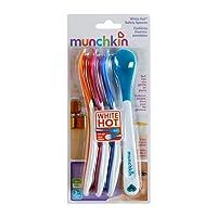 【自营】 美国 Munchkin 满趣健 炙手可热婴幼儿安全汤匙,4支装MK43682