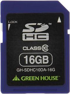 免费恢复绿色屋消除数据 附有数据复原服务SDHC卡 16GB GH-SDHC10DA-16G