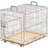 爱丽思欧雅玛 折叠笼 小型-中型犬用 银色/棕色 OKE-600R