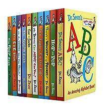 苏斯博士低龄套装 10册纸板书 廖彩杏推荐书单 英文原版 Dr.Seuss's ABC 苏斯博士的ABC 苏斯博士英文启蒙纸板书 儿童绘本故事 [平装] [Jan 01, 2014] Dr. Seuss [平装] Dr. Seuss