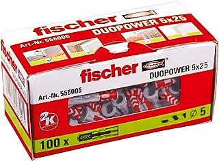 Fischer 555005 Duopower 2 K Dowel 5 mm 100 件
