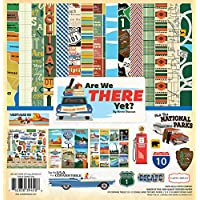 "Carta Bella Collection Kit 12""X12""-Are We There Yet?"