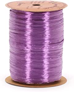 Burton & Burton 珠光 Wraphia 丝带 紫色 7MM BURTON-02010