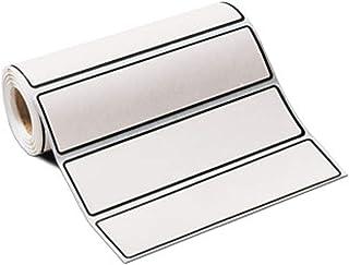 Carstens 白空白 I.D. 一卷 200 个标签,适用于 1 英尺活页夹
