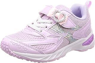 Syunsoku 瞬足 运动鞋 学生鞋 大型鞋钉 轻量 V8 15厘米~23厘米 2.5E 儿童 女孩 LEC 5710 紫色 15.0 cm 2.5E