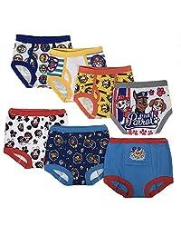 nickelodeon 幼儿男孩狗狗巡逻队3PK 训练裤和4PK 三角裤 Paw Multi 4T