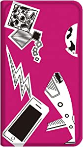智能手机壳 手册式 对应全部机型 薄型印刷手册 cw-141top 套 手册 动画 极薄 轻量 UV印刷 壳WN-PR026664-MX AQUOS PHONE SERIE SHL22 图案 A