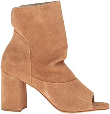 Matisse Womens Gordy Leather Open Toe Ankle Fashion Boots, Natural, Size 8.0 US