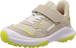 Syunsoku 瞬足 运动鞋 耐久性 15~23cm 2E 儿童 女童 LEJ 6700 米色 23.0 cm 2E