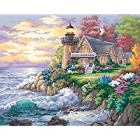 Dimensions Needlecrafts PaintWorks Paint By Number Kit, Guardian of the Sea