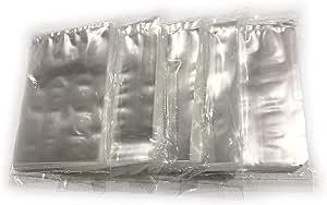 JJHP - 7.62 cm x 10.16 cm - 扁平聚丙烯袋 1.5 mm - 符合 FDA 工艺品和食品