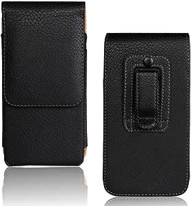 Higt 优质人造皮革人质袋带皮带扣环适用于 Iphone、Iphone 7/8 Plus、Iphone x Iphone 7/8 Plus 5.5 Inch 垂直