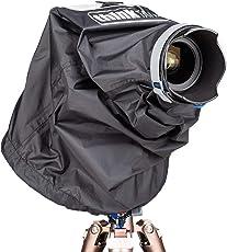 Think 背心照片 DSLR 和无镜像相机应急防雨罩 带有*大 24-70mm 镜头 - 小号