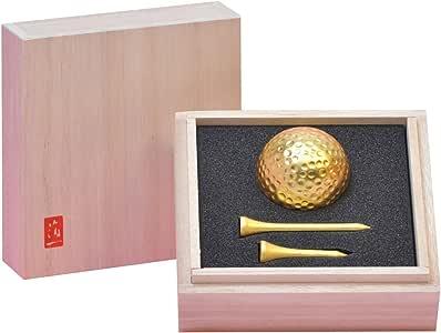 箔一 高尔夫球 金色 【ボール】径43【ティー】40、60mm A125-99021