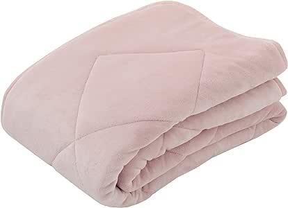 东京西川 床垫 粉色 单人床 容量足够 百合 素色 PM08002069P