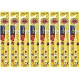 儿童牙刷 0-3岁用 面包超人 黄色 8本