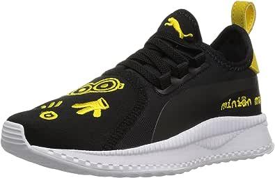 PUMA Minions Tsugi Apex 儿童运动鞋 Puma Black-puma White-minion Yellow 12.5 Little Kid