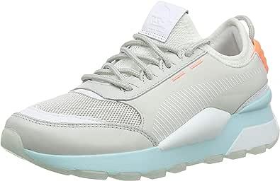 Puma RS-0 Tracks 运动鞋 Glacier Gray-puma White 38 EU