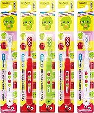 惠百施 GACHAPIN儿童牙刷超软 3-6岁 5支装 B-6161(颜色随机)(进口)