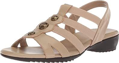 Easy Street Nylee 女士平底凉鞋 Natural/Gore 9.5 M US