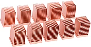 Alphacool GPU RAM 铜质散热器,10 x 10毫米,10件装