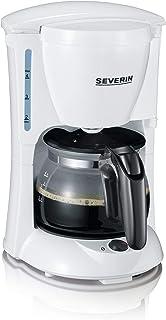 Severin KA 4807 全自动咖啡机(650瓦,0.46 升,不锈钢,塑料)白色 / 黑色