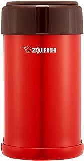 ZOJIRUSHI 象印 保溫盒 便當盒 不銹鋼 保溫保冷 750ml 番茄紅 SW-JA75-RV