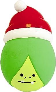 Pet Brands 圣诞乙烯基 Sprout 狗狗吱吱声玩具