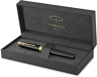 PARKER 派克 Sonnet Fountain 黑漆钢笔,中号笔尖,黑色墨水
