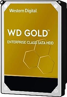 Western Digital Gold 12TB 企业级内置硬盘-7200 RPM级,SATA 6 GB / S,256 MB高速缓存,3.5英寸-WD121KRYZ