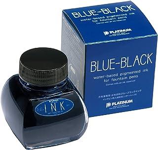 铂金钢笔 钢笔瓶装墨水 60cc 蓝黑色