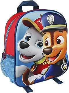 Paw Patrol 狗狗巡逻队 2100001958 31 厘米 Chase and Marshall 3D 效果少年背包