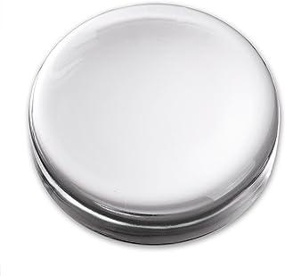 阿德利亚 水晶玻璃 纸 重量 圆形