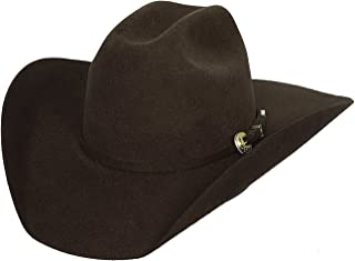 Bullhide Hats Kingman 4X 毛毡西部牛仔帽0550  巧克力色 7 3/8