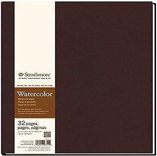 Strathmore 400 系列精装水彩艺术日记,27.94 厘米 x 35.56 厘米 16 张 - STR-467-11