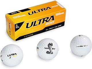 3 只装 Wilson Ultra 500 高尔夫球,带有 Shelby 分离式蛇形标志 | 防切割外壳,终极耐用 | 高能量核心 | *大初始速度带来惊人的距离