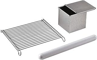 タイガークラウン ツールセット シルバー ホワイト パン焼型サイズ:121×119×120mm パン作り3点セット AME-7149 3個入