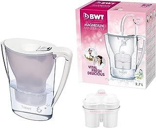 BWT 德国智能计时免开盖净水壶滤水壶净水杯 1壶1芯 2.7L白色