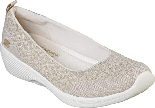 Skechers Arya in The Stars 女士一脚蹬 Skimmer 运动鞋