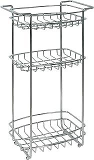 Zenna Home 2537SS01, Slimline Floor Stand, Chrome