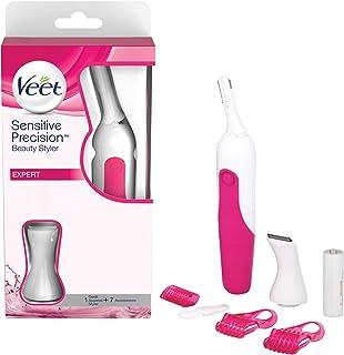 Veet薇婷 Sensitiv Precision Expert美容仪-防水 精密梳 柔和去毛 胸部,比基尼私密区 腋下 1机7配件