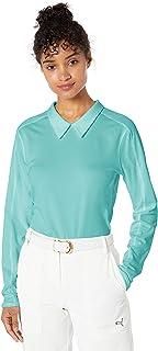 PUMA 2019 高尔夫女士长袖 Polo 衫