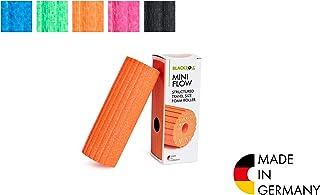 BLACKROLL Mini Flow 筋膜滚筒 -原装 小号的自我按摩用滚筒 双重效果 适用于筋膜 多种颜色 橘色 One Size