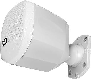 OSD Audio Nero Mini HT 25W 卫星音箱 适用于家庭影院/游戏,包括壁挂支架和旋转球接头NERO-MINIWHT