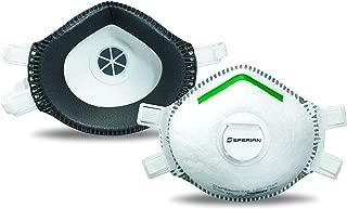 Honeywell 霍尼韦尔 SAF-T-Fit Plus一次性去除含铅涂料P100呼吸面罩,带呼气阀,一件(RWS-54020)