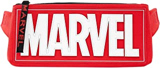 Loungefly x Marvel 标志腰包,带可调节肩带