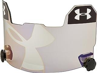 Under Armour 标准橄榄球头盔带环形帽舌,灰色/蓝色